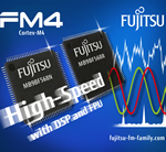 Fujitsu Unveils New FM4 Family of 32-bit Microcontrollers based on the ARM Cortex-M4F processor core