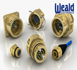 Heavy-Duty Brass Circular Connectors From Weald Electronics Can Handle Tough Industrial Applications
