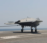 Successful catapult launch and landing of the X-47B