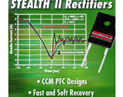 Rectifiers Increase Power Supply Efficiency and Reliability While Reducing Space