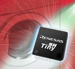 16/32Kbyte Flash versions added to Renesas microcontroller range
