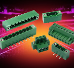 Plug-In Terminal Blocks With Screw Flanges Withstand Vibration