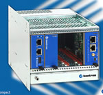 Kontron OM6040: Open Modular MicroTCA Platform with Single-Star Backplane for PCI Express and Gigabit Ethernet