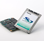 Toshiba Launches Solid State Drives with MLC Devices