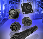 Plastic bayonet-lock connectors offer IP67 protection for industrial use