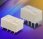 Axicom IM series relays from Tyco Electronics are amongst the smallest 4th generation telecom relays on the market