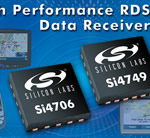 Silicon Labs Enhances RDS Data Receivers for Portable and In-Car Navigation Devices