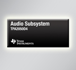 TI introduces complete audio subsystem for portable devices