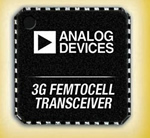 Analog Devices Unveils 3G Transceiver for Femtocell Base Stations