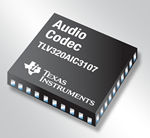 Low-power stereo audio codec from Texas Instruments