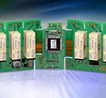 Power PCB relays from Tyco Electronics