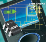 LED driver provides 20% lower dropout voltage, extending battery life for low cost mobile products