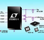Wide Input Voltage Range Synchronous Step-Down DC/DC Controller from Linear Technology