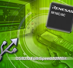 Renesas and Thesycon collaborate on USB support for the M16C/6C microcontroller