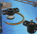 Throttle Position Sensor in Hollow- and D-Shaft Versions