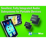 National Semiconductor Extends Family of Low-Power Audio Subsystems for Handheld Devices