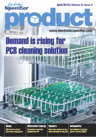 ElectronicSpecifier Product April 2016