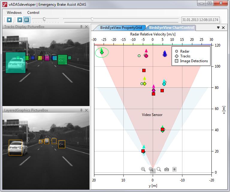 Tool simplifies multi sensor application development for Canape software